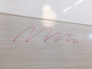 書いても消せる壁
