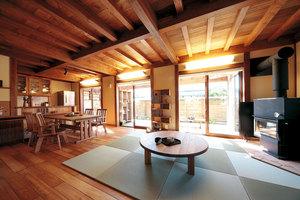 天然木の家