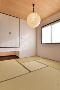 注文住宅の施工実例和室