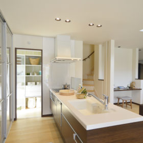 キッチンの施工実例