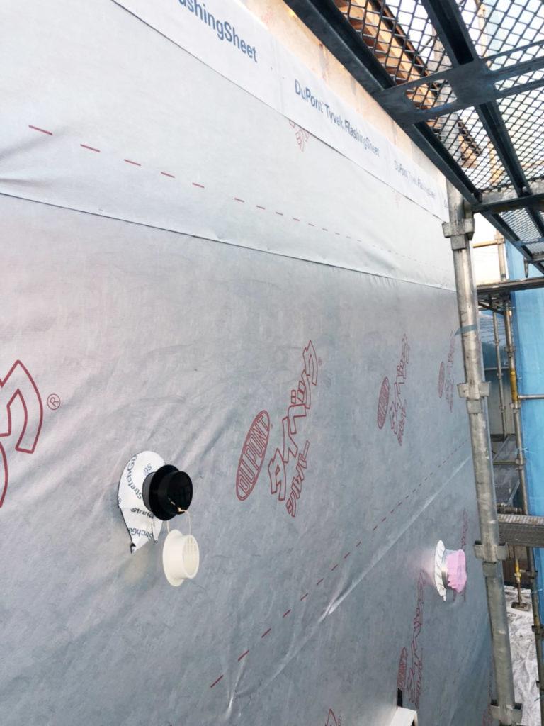 透湿防水遮熱シート
